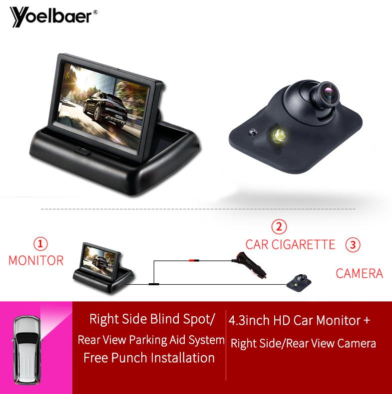 Yoelbaer 左右車カメラマルチアングル車フロントリアビューカメラ最高隠しカメラ