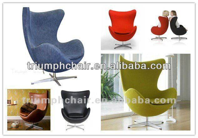 Colour Egg Shape Chair For