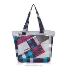 Stylish designed tote bag for women, made of soft and lightweight cloth good quality ensure use a long time