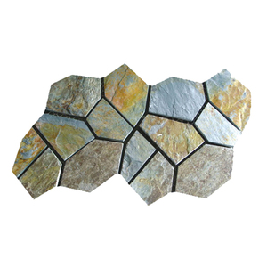 HS-WT112 Guangdong in stock stone irregular shaped slate tile