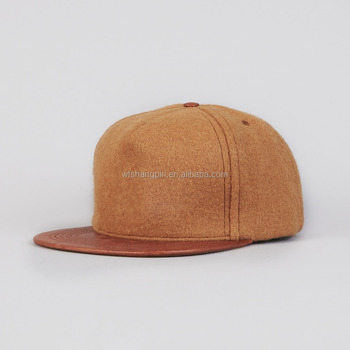 15f5fd93f047e Custom Made 100% Wool Snapback Hat