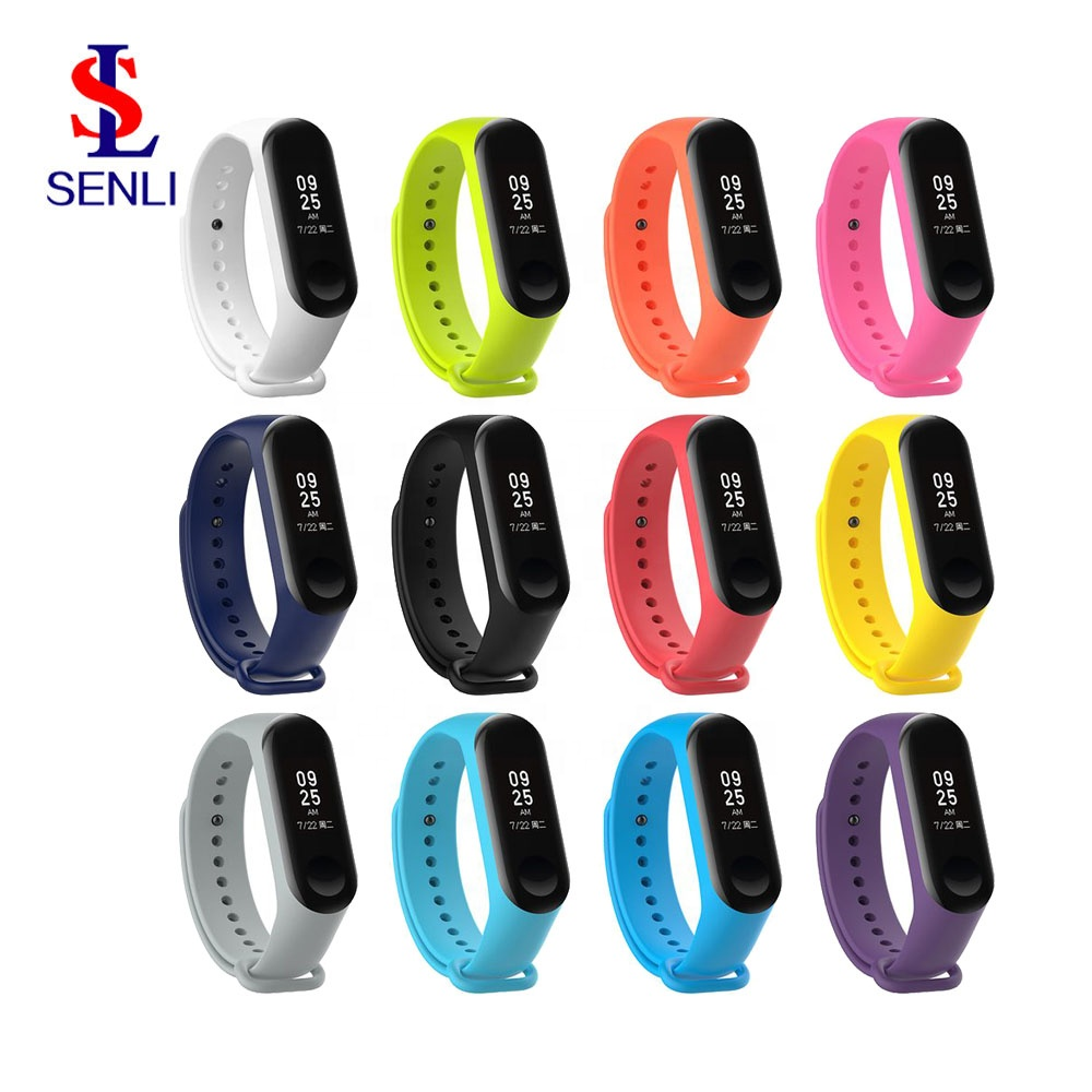 Colorful Silicone Wrist Strap Bracelet For Mi Band 2 Double Color Replacement Watchband Smart Band Accessories For Xiaomi Mi2 To Win Warm Praise From Customers Back To Search Resultswatches Watch Accessories