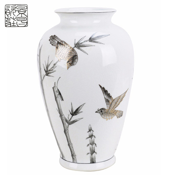 Cost Price Ceramic Tall Vases Wholesale Home Decoration Modern