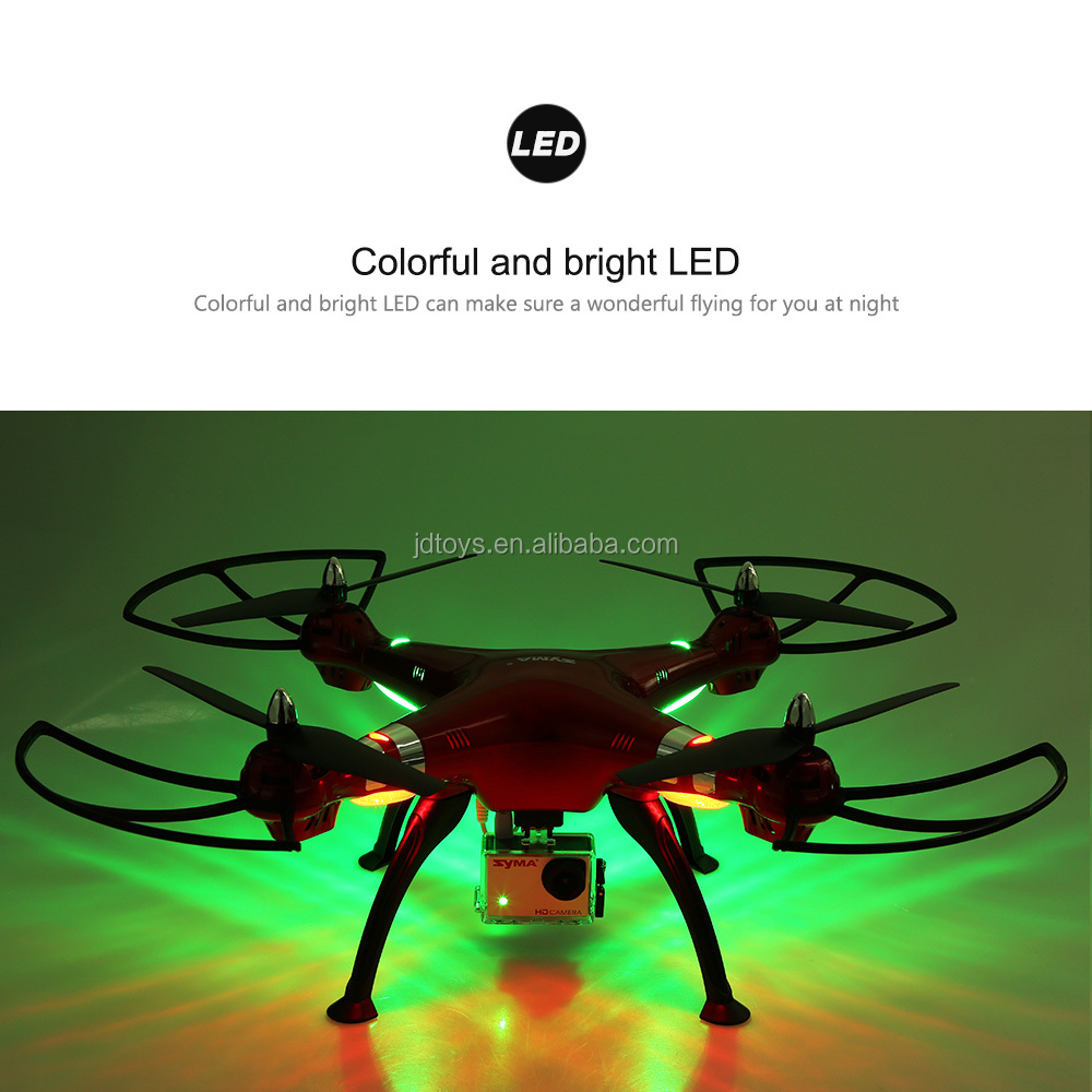 SYMA New Arrival X8HG RC Drone with HD camera 800 million pixels professional FPV drone