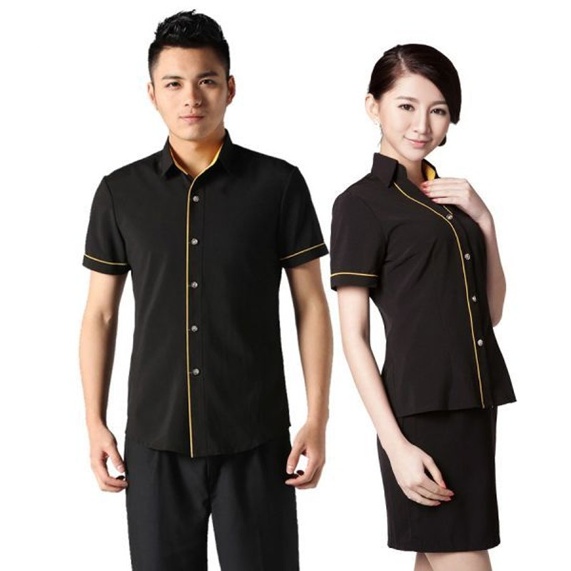 Wholesale uniform hotel front office design buy uniform for Hotel design jersey