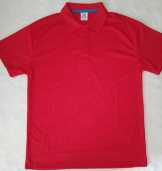 promotion polo shirt blank polo short sleeve polo shirt in 100%polyester