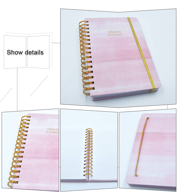 High Quality Custom Pocket Notebook, 2018 Mini Spiral Notebook
