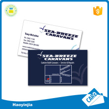 300gsm Special Shape Paper Print Business Card