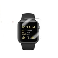 New arrival 2.5D 9h anti-shock smart watch tempered glass screen protector for apple watch