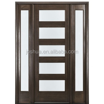 Modern French Entry Door With Sidelites Buy Fancy Entry Doors