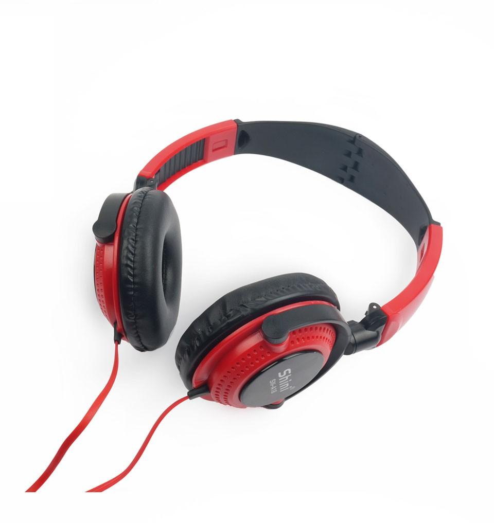 shini a18 stereo headphone earphone with microphone. Black Bedroom Furniture Sets. Home Design Ideas