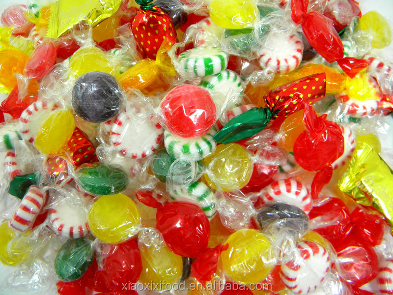cheap bulk packed cut rock hard candy