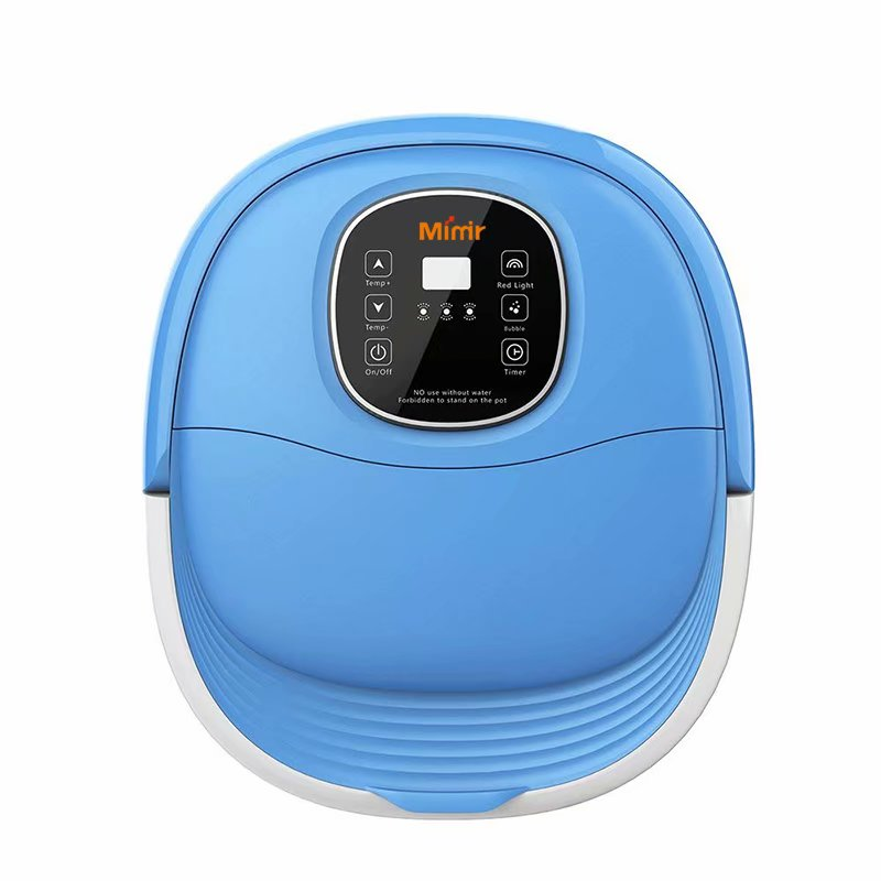 Multifunction Bubble Plastic Detox Heated Infrared Foot Spa Bath Massager Machine