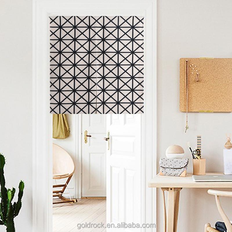 gro handel schwarz wei zebras vorhang druck tuchkunst torbehang benutzerdefinierte japanischen. Black Bedroom Furniture Sets. Home Design Ideas