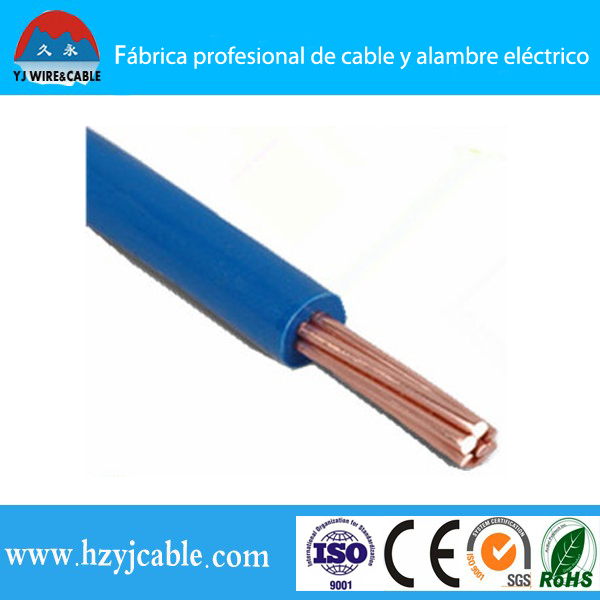 Pvc Cover Electrical Wire Thw Or Tw Awg 14 12 10 8 6 Solid Or Strand ...