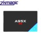 A95X A2 Amlogic S912 Octa Core 2017 android 6.0 Pre-installed media player magic box tv receiver