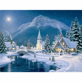 Latest Lighted Christmas Tree Led Canvas Wall Art Prints For Holiday ...