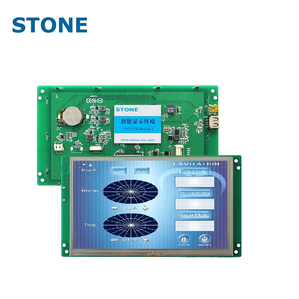 Industrielle Automatisierung 7 LCD TFT programmierbares Touchscreen-Modul