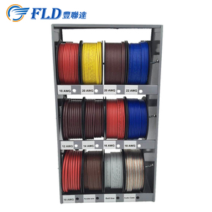 Wholesale FLD 400ft 12 spools AWG10 to 22AWG Mini electric auto cable reel