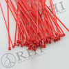 Red Nylon 66 self-locking cable tie