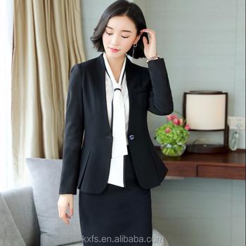c991f27fb88d79 スタイリッシュな女性コートパンツ黒スーツレディースエレガントオフィス ...