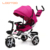 Cheap China inflatable smart air tire pneumatic tyre pink and purple red little 4 in 1 walking baby inflatable trike for outdoor