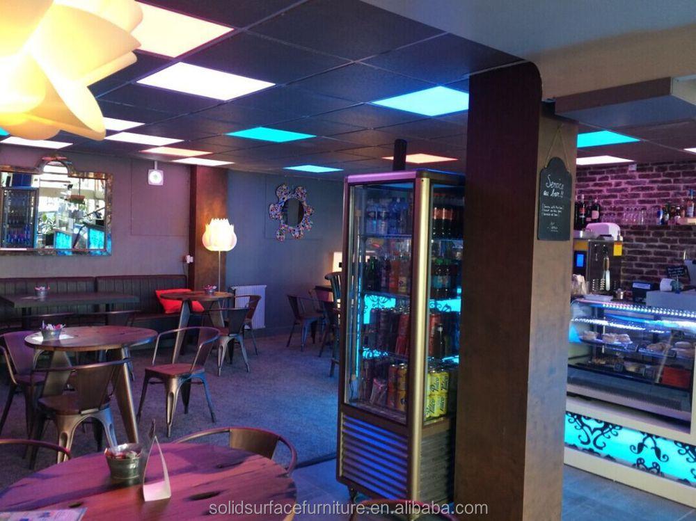 Design Personalizado Incrível Móveis Lounge Bar Iluminado Balcão De Bar  Moderno