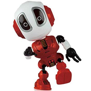 Voice Changer Talking Robots For Kids Mini Metal Robot Toy ...