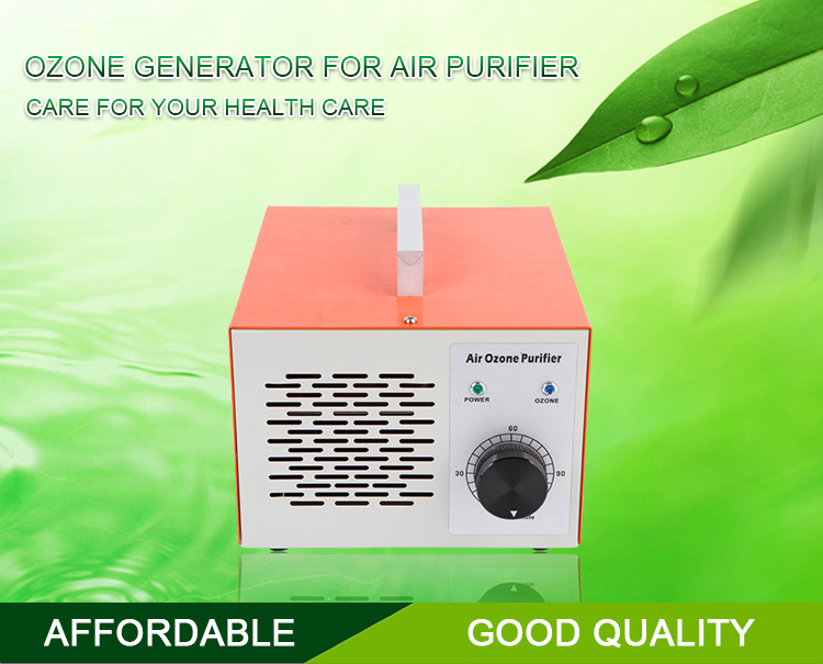 Small ozone air purifier generator to clean room