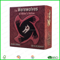 Custom card games the Werewolves Game strategy games