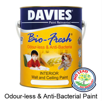 Davies Bio Fresh Buy Odour Less Anti Bacterial Paint Product On