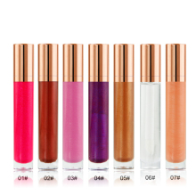 Private label 7 farben vegan shiny lip gloss make-up <span class=keywords><strong>lipgloss</strong></span>