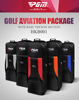 PGM thicken nylon fabric air transportation golf travelling bag