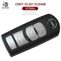 AK026017 smart remote control key for Mazda CX-900 2010 4 Button 433mhz PCF7953P
