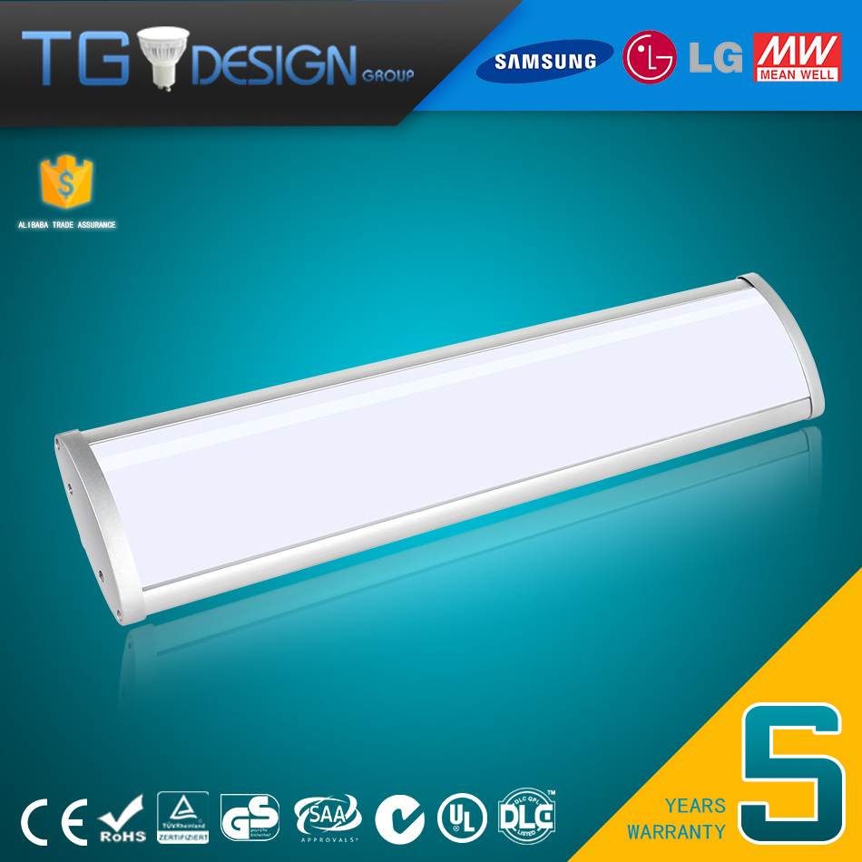 Wholesale and Factory Pirce 40W 60W 80W LED linear Low Bay Commercial Light Fixtures Follow CE ROHS SAA Standard