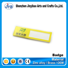 plastic name badge clip with pin clasps for wholesale