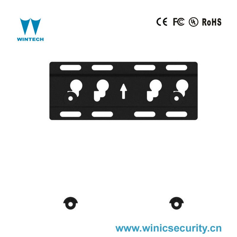 adjustable LCD wall mounting tv brackets for cctv power security