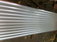 Zinc coated Gi Galvanized Corrugated wave Roofing Steel sheet