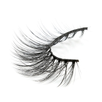 custom packaging faux mink premium 3d silk eyelash