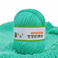 Discount Cheap Fabric Roll Raw Material Polyester Milk Cotton Yarns Hand Knitting Cotton Fancy Knit Crochet Yarn For Scarf