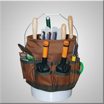 Garden Tool Bag Bucketed Fits Any 5 Gallon Bucket
