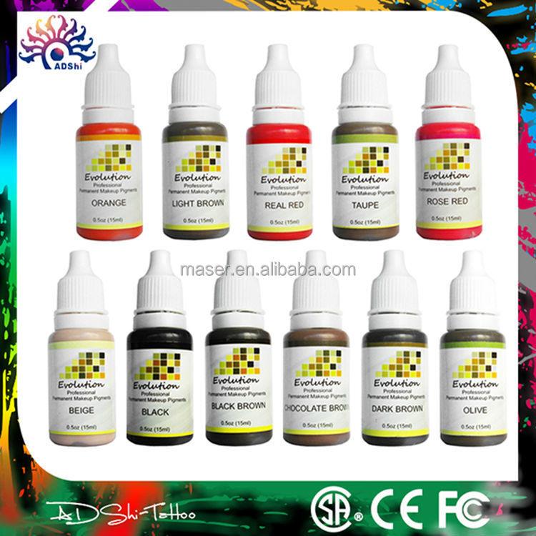 Cheap Original Pure Permanet Makeup Pigment Tattoo Ink Manufacturer ...