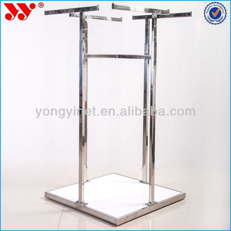 2014 Alibabam metal four side hanger display racks DK132-00