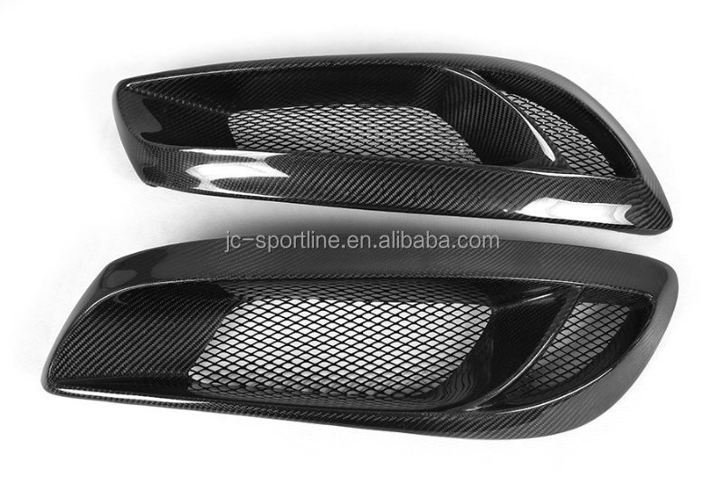 Real Carbon Fiber Mask Fog Light Covers For Hyundai Genesis Coupe ...