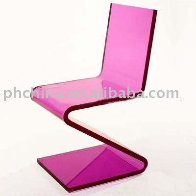 Acrylic Zigzag Chair, Acrylic Zigzag Chair Suppliers And Manufacturers At  Alibaba.com