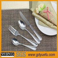 Five Star hotel best selling stainless steel flatware colorful japan knives sets