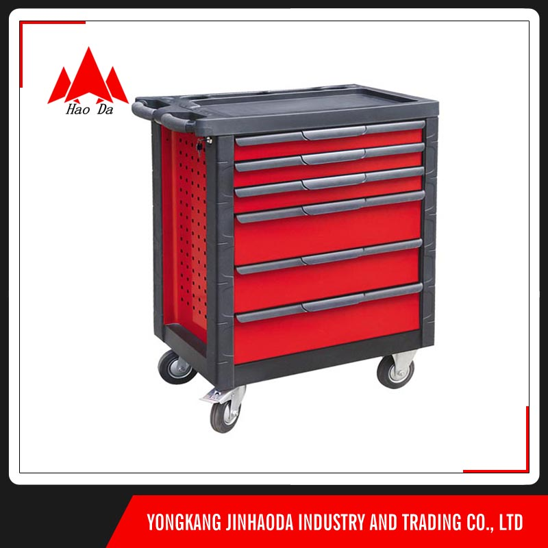 Newest 3 folding steel high quality slides husky tool box