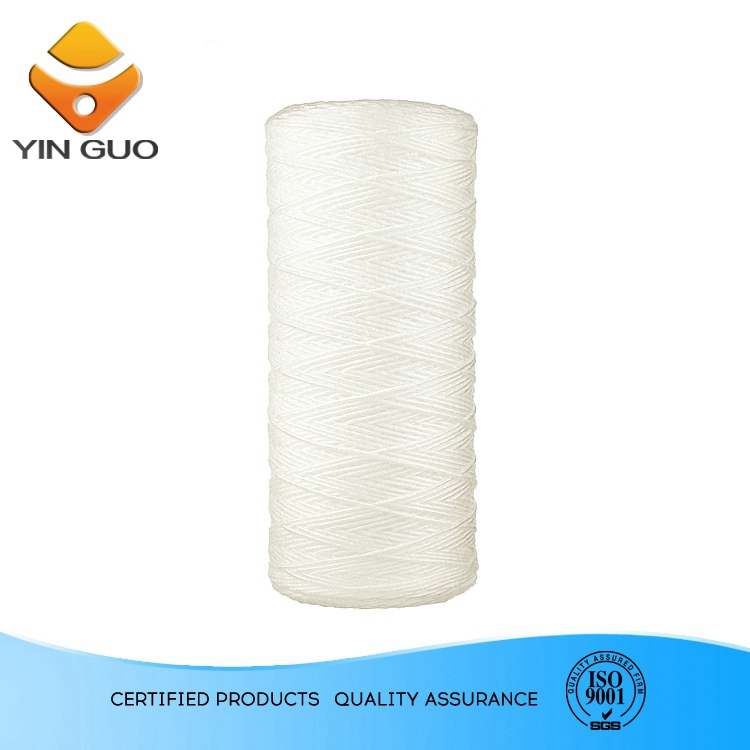 spiral wound filter cartridge ,59 micron particle filter,upvc filter case fo 5 cartridges