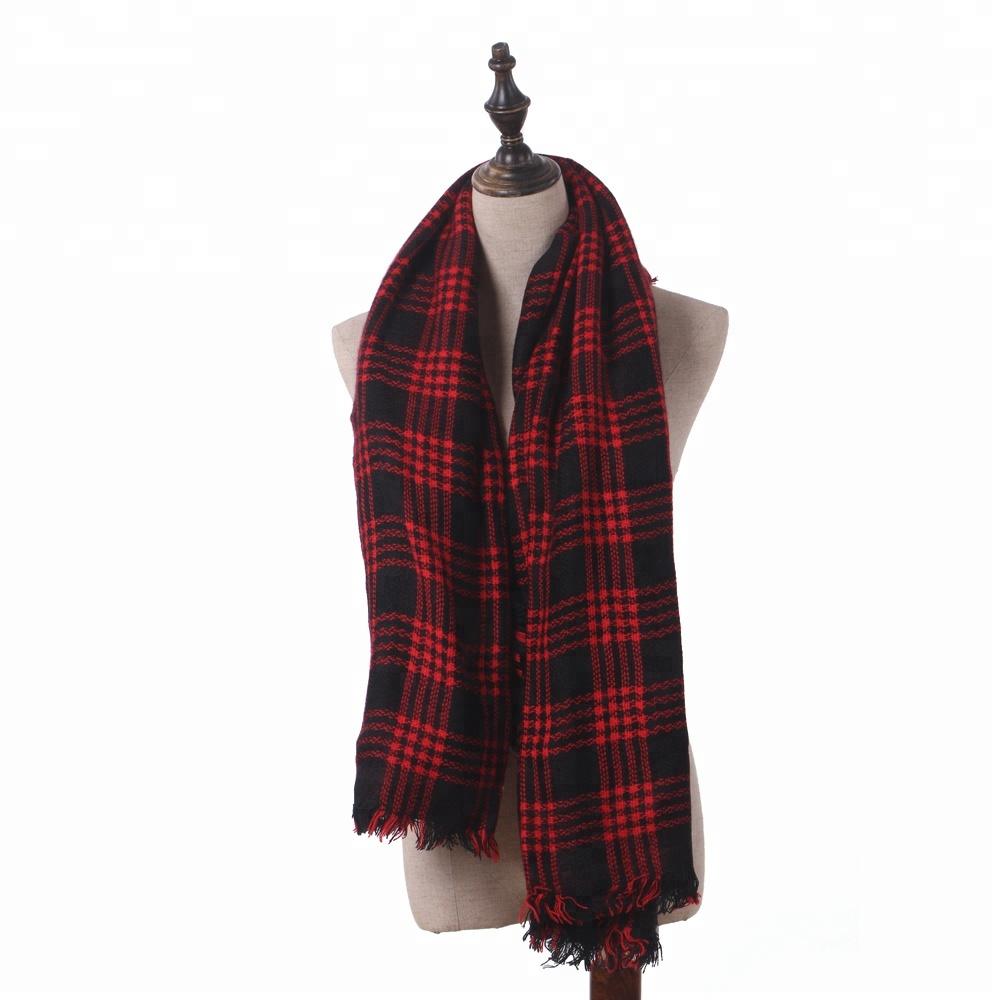 Royal Stewart Tartan Piper Plaid Sjaal