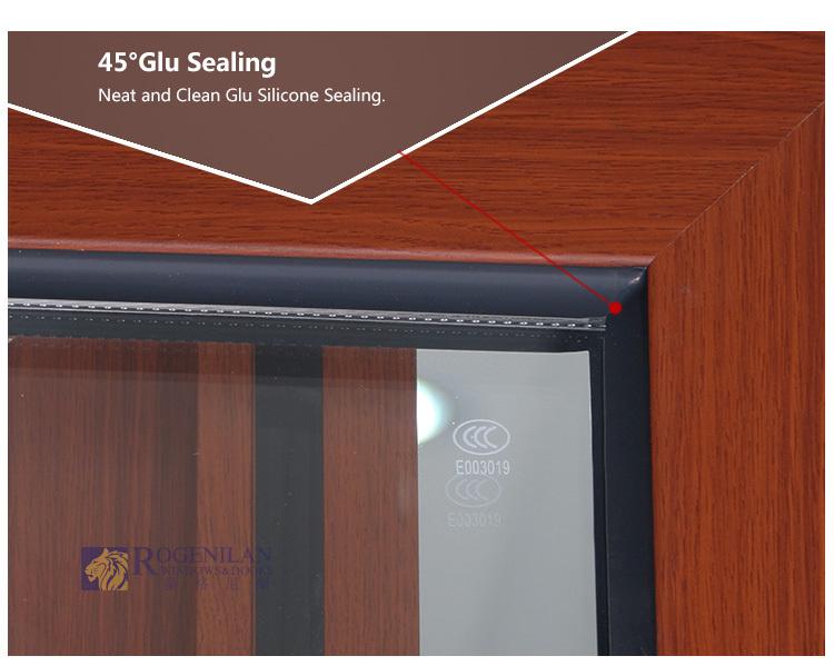 Rogenilan aluminum partition wooden door design sliding glass door with grilles & Rogenilan Aluminum Partition Wooden Door Design Sliding Glass Door ... Pezcame.Com